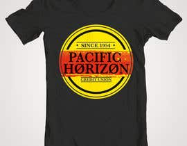 #26 untuk Design a custom T-Shirt for Pacific Horizon oleh RonRamores