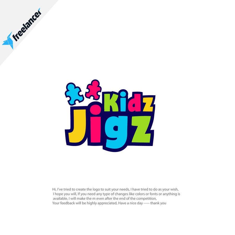 Contest Entry #                                        618                                      for                                         Kidz Puzzles (Logo Design)