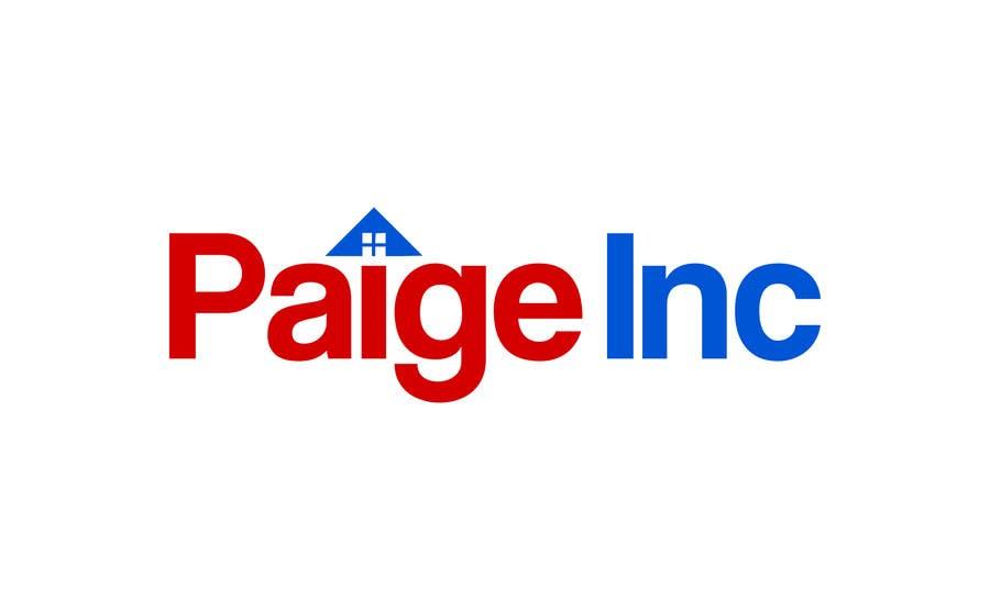 Konkurrenceindlæg #36 for Concevez un logo for Paige Inc