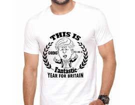 #31 for T-shirt design from a tweet by nasrinsultanariy