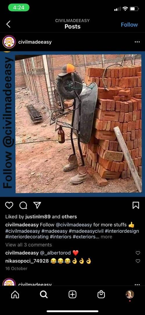 Penyertaan Peraduan #                                        71                                      untuk                                         Find One Piece of Instagram Content (Construction Industry)