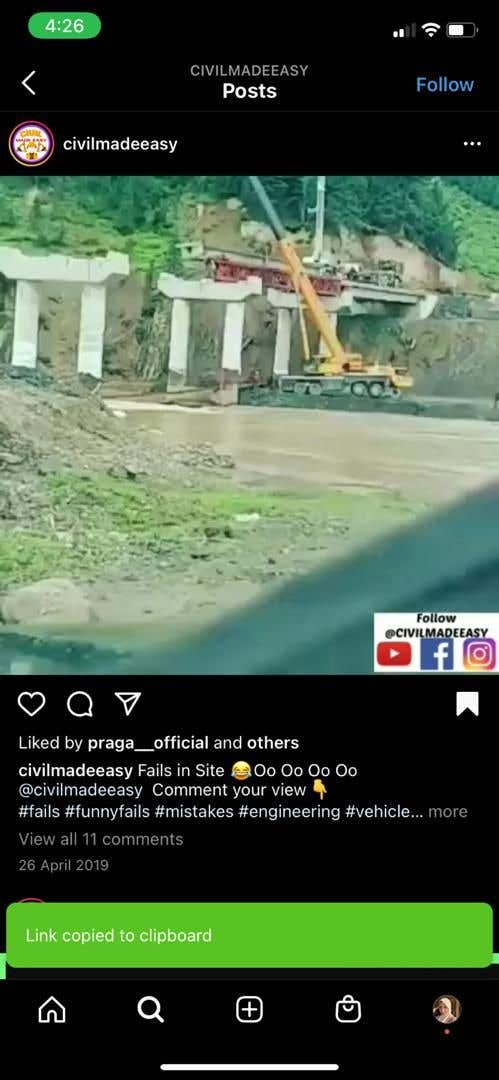 Penyertaan Peraduan #                                        72                                      untuk                                         Find One Piece of Instagram Content (Construction Industry)