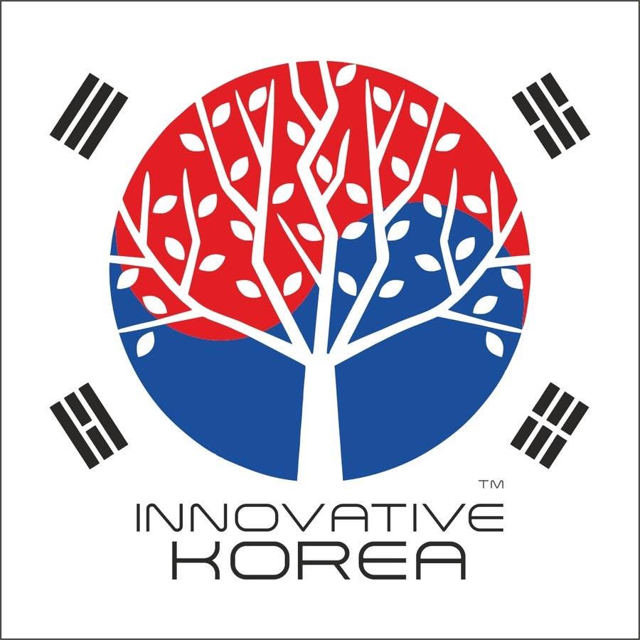 Kilpailutyö #18 kilpailussa Design a Creative logo for Innovative Korea