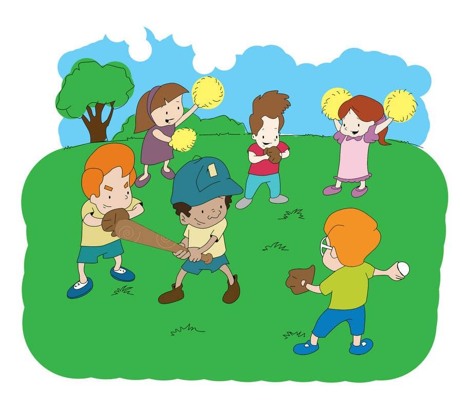 Konkurrenceindlæg #                                        25                                      for                                         Illustration for Preschool activities for KIDS.