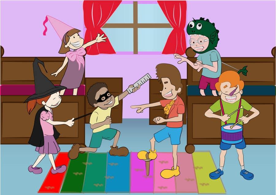 Konkurrenceindlæg #                                        33                                      for                                         Illustration for Preschool activities for KIDS.