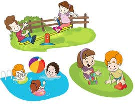 #3 pentru Illustration for Preschool activities for KIDS. de către bujjamma