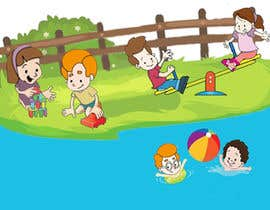 #29 для Illustration for Preschool activities for KIDS. от bujjamma