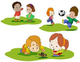 #27 para Illustration for Preschool activities for KIDS. por amandeep96