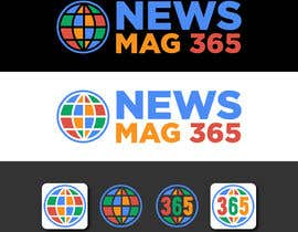 ansardeo tarafından Urgently required very sleek and eligent designed logo and favicon for my website which is based on online news => website brand name is News Mag 365 so i am looking for logo and favicon for it in 3 colors için no 34