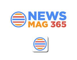 ansardeo tarafından Urgently required very sleek and eligent designed logo and favicon for my website which is based on online news => website brand name is News Mag 365 so i am looking for logo and favicon for it in 3 colors için no 58
