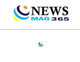 bccsmirpur tarafından Urgently required very sleek and eligent designed logo and favicon for my website which is based on online news => website brand name is News Mag 365 so i am looking for logo and favicon for it in 3 colors için no 39