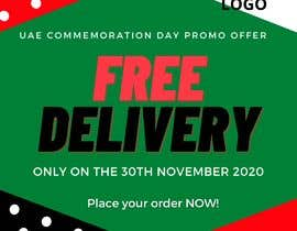 #20 for I want to make an advertisement of a delivery company that will do promotion of free delivery on 30 Of November af izzaproedit