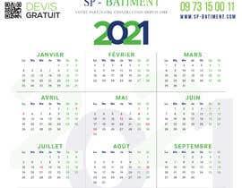 Nro 197 kilpailuun A4 format calendar 2021 käyttäjältä CenturionArts