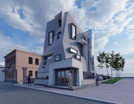 #11 untuk drawing of  futuristic looking office building oleh vadimmezdrin