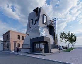 #12 untuk drawing of  futuristic looking office building oleh vadimmezdrin