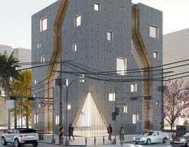 #9 untuk drawing of  futuristic looking office building oleh syslim