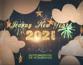 nº 20 pour Happy new year 2021 animation of our logo par mohamedelebs