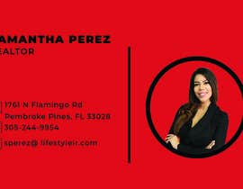 #366 for Business Cards - Samantha Perez by aryanhabib863