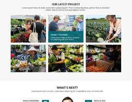 #144 for Graphic Design Layout Mockup for Redesigned Corporate Website af WebCraft111