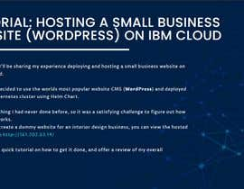 #135 for Tutorial: Host a small business website on IBM Cloud af TrexDigital