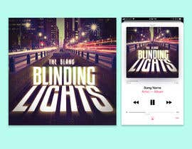 """#76 for Album artwork for cover of """"Blinding Lights"""" by The Weeknd by teameez"""