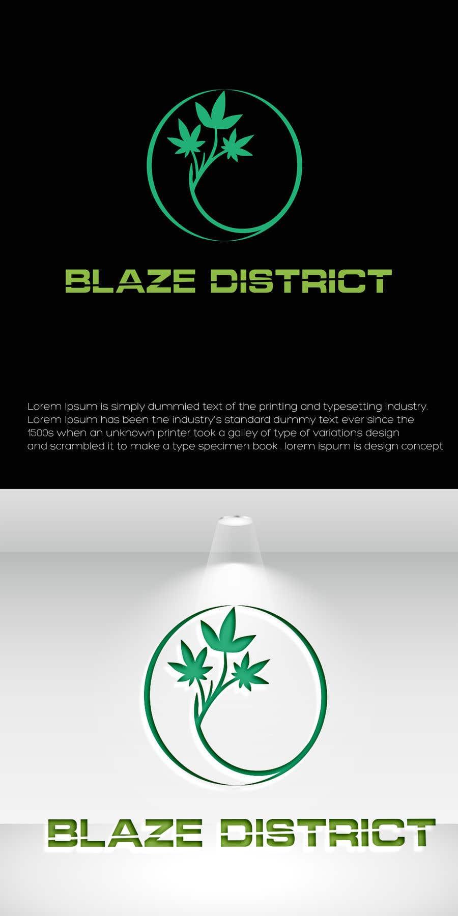 Bài tham dự cuộc thi #                                        79                                      cho                                         Logo BlazeDistrict