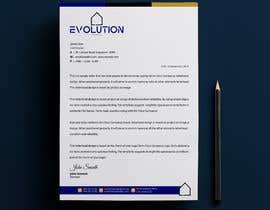 Nro 49 kilpailuun Company Letter head to be created käyttäjältä alakram420