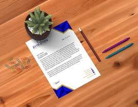 Nro 41 kilpailuun Company Letter head to be created käyttäjältä khadijakhatun12a