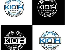 #330 for KIOTH Clothing Logo - 25/11/2020 03:57 EST by mehboob862226