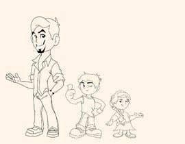 nº 22 pour Design my cartoon characters par BrandDesign3