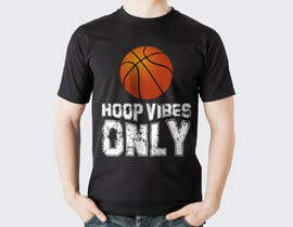 #70 cho I would like to Change words to HOOP VIBES ONLY in the same font pattern it is already. Remove the skull and flowers and add a basketball where the skull is over the letters.. i would like it in black and white for sure.. bởi rayhanshawkat199