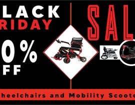 Nro 53 kilpailuun Black Friday Sale Banner käyttäjältä innovativearea24