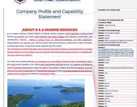 shohidulshaan tarafından Update our Company Profile için no 44