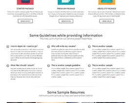 #8 for Resume Writing Services Website by sammi67