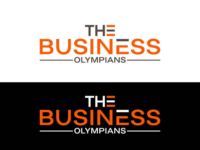 Penyertaan Peraduan #                                        123                                      untuk                                         Business Olympians Logo