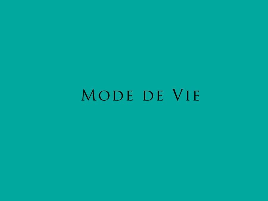 Contest Entry #                                        40                                      for                                         Design A Logo For Brand Name: Mode de Vie