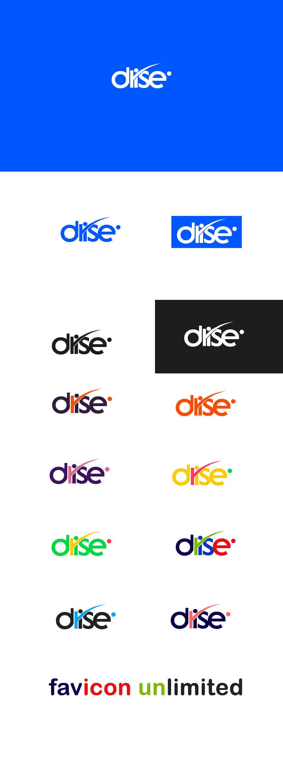 """Contest Entry #                                        90                                      for                                         I need a new logo for my tech company called """"Drise"""""""