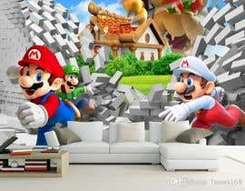 #7 for Build a wall design for my house - Mario bross as an example af vtduih