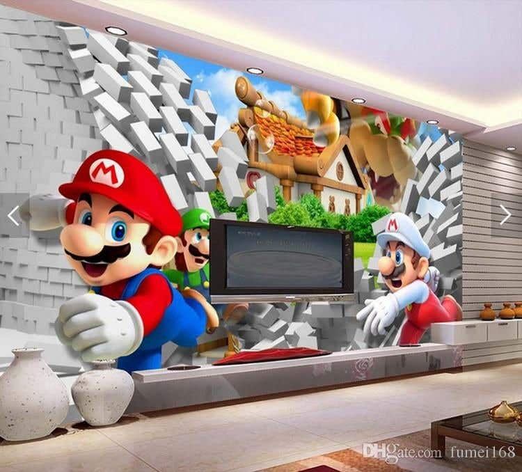 Penyertaan Peraduan #                                        10                                      untuk                                         Build a wall design for my house - Mario bross as an example