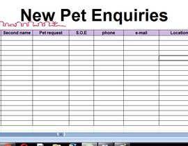 #23 for Excel spread sheet needed af noorrafa45