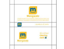 #17 cho Artwork for packing cleaning cloth bởi ji3553894