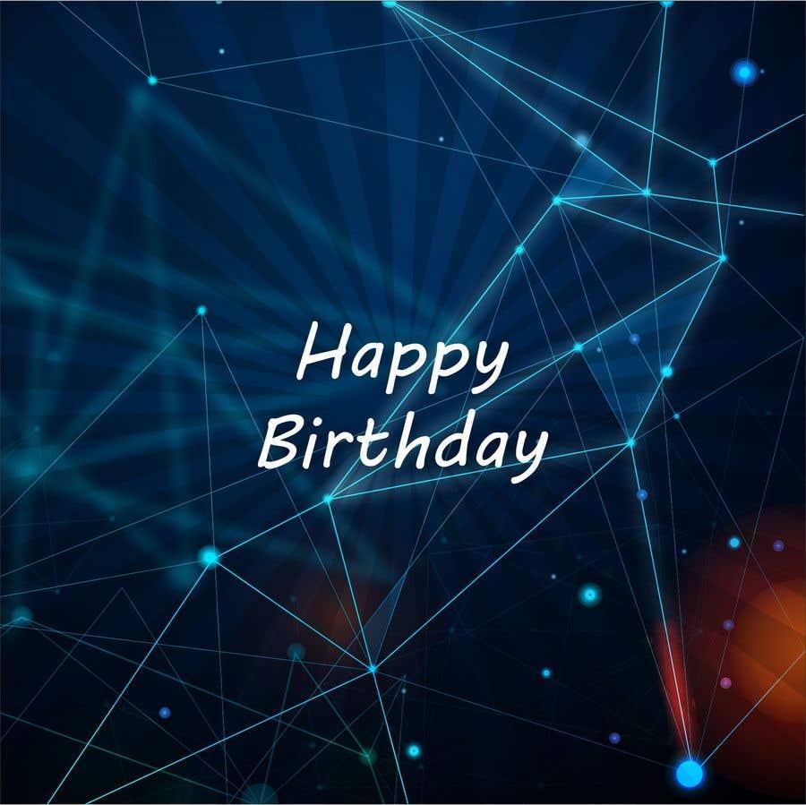 Konkurrenceindlæg #                                        65                                      for                                         Birthday Card design