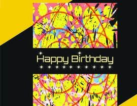 #114 for Birthday Card design af Shahnaz8989