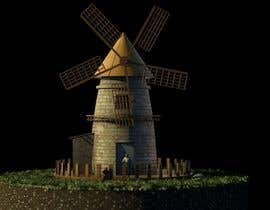 #31 untuk Illustrate and Animate Original Old-Fashioned Windmill oleh Jozzz