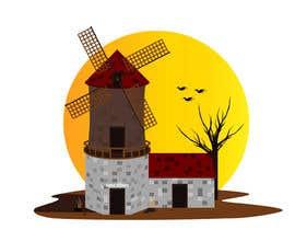 #28 untuk Illustrate and Animate Original Old-Fashioned Windmill oleh gadzstudio