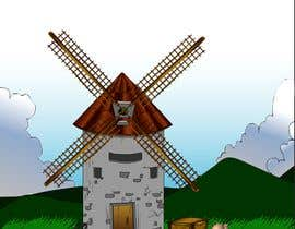 #24 cho Illustrate and Animate Original Old-Fashioned Windmill bởi Er2dimensiones
