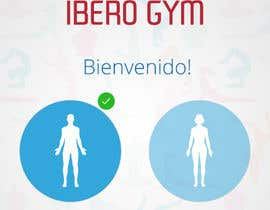 #34 para Design an App Mockup for a Gym por sahapramesh