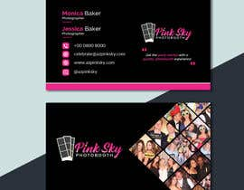 #214 cho Fun and Creative Photo Booth Business Card (2-sided) bởi Nayefhaque