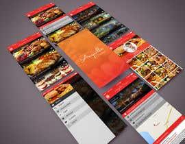 #9 untuk Anguilla Cuisine App UI Mockup oleh zolcsaktamas