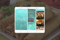 Graphic Design Contest Entry #14 for Anguilla Cuisine App UI Mockup